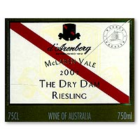2007 d'Arenberg The Dry Dam Riesling