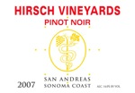 2007 Hirsch Vineyards San Andreas Pinot Noir