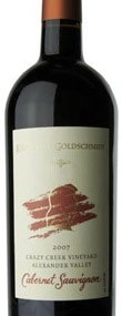 2007 Katherine Goldschmidt Crazy Creek Vineyard Cabernet Sauvignon