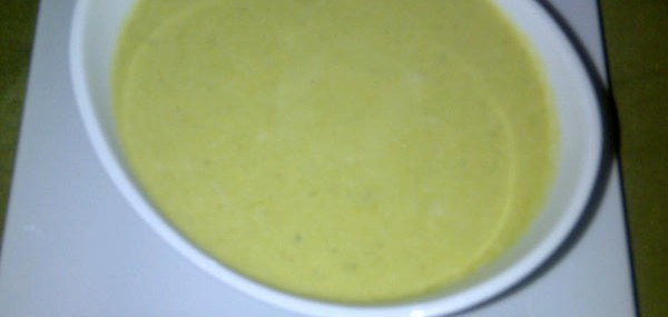 Cream of Asparagus and Vermont Sharp Cheddar Cheese Soup