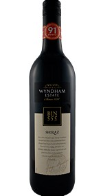 2008 Wyndham Estate BIN 555 Shiraz