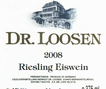 2008 Dr Loosen Riesling Eiswein
