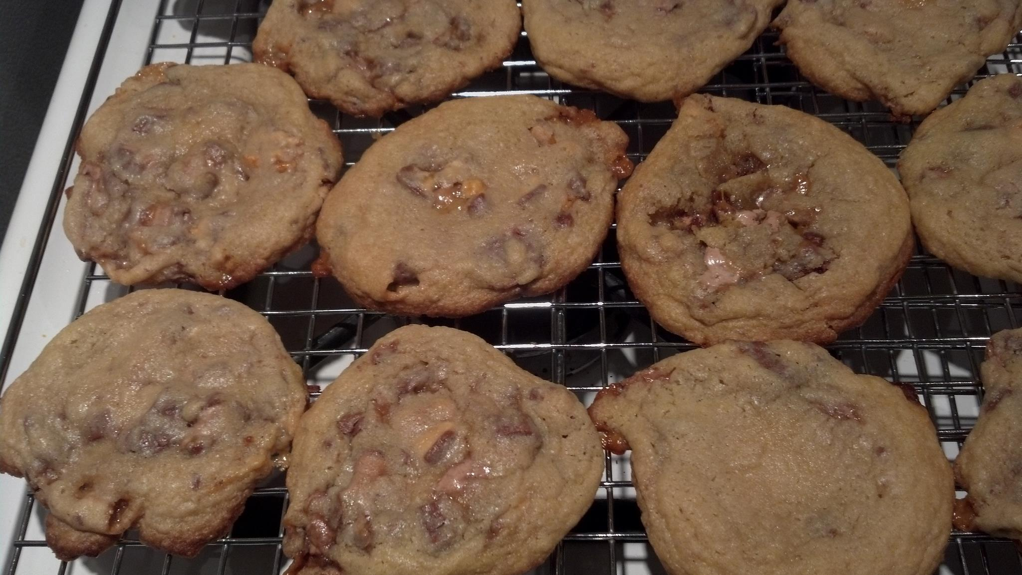 Candy Bar Cookies - 021713