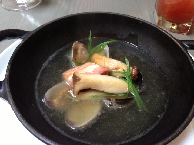 Pork Belly and Clam Soup