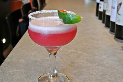 The Orange Squirrel Prickly Pear Margarita 11 | Food & Wine Chickie Insider