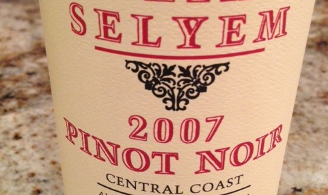 2007 Williams Selyem Pinot Noir Central Coast