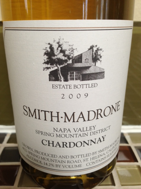 Smith Madrone Chardonnay