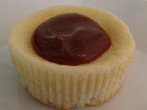 Dulce de Leche Mini Cheesecake