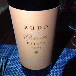 2003 Rudd Estate