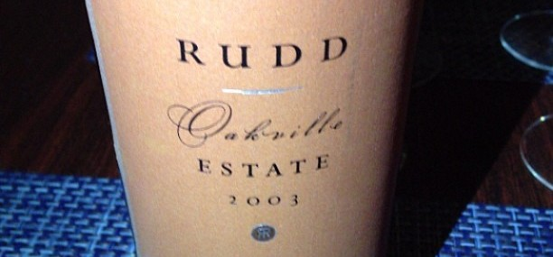 2003 Rudd Oakville Estate