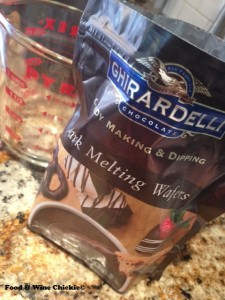 Ghirardelli Dark Melting Wafers