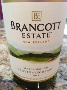 2012 Brancott Estate Marlborough Sauvignon Blanc