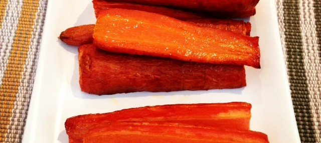 Meatless Monday – Easy Roasted Carrots