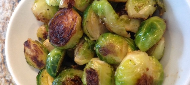 Meatless Monday – Easy Roasted Brussels Sprouts