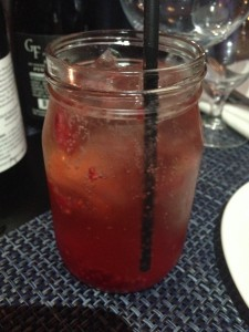 Raspberry-Mocktail