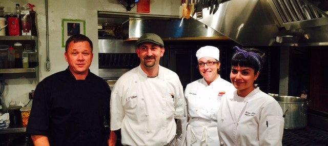Chef Todd Villani at James Beard House
