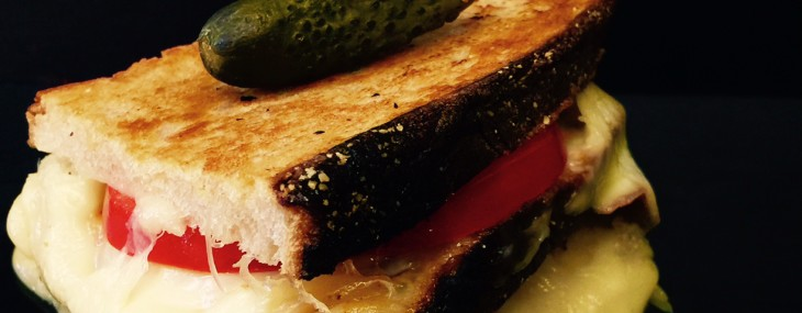 Pig & Prince Restaurant Duck Fat Grilled Cheese