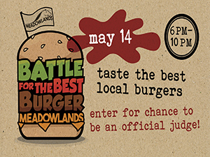 Meadowlands Battle for the Best Burger 5/14/16
