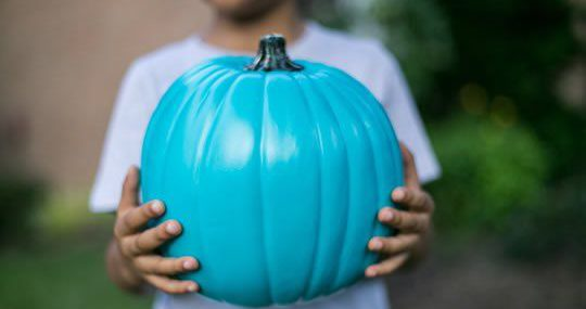 For Halloween – Put a Teal Pumpkin on your Doorstep