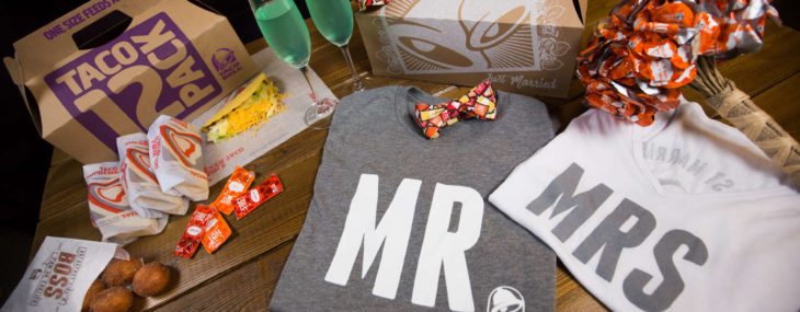 Get Hitched at Taco Bell for 600 Bucks