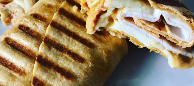 Grilled Turkey Wrap – Not Really a Recipe