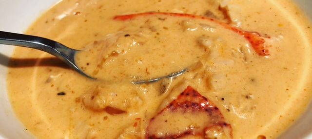 Short Cut Creamy Lobster Bisque