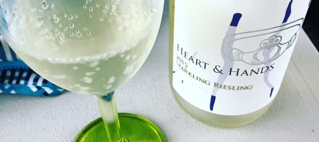 2015 Heart & Hands Sparkling Riesling