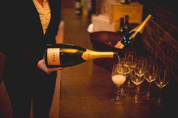 Exclusive Wine Cellar Krug Dinner at Crystal Springs Resort