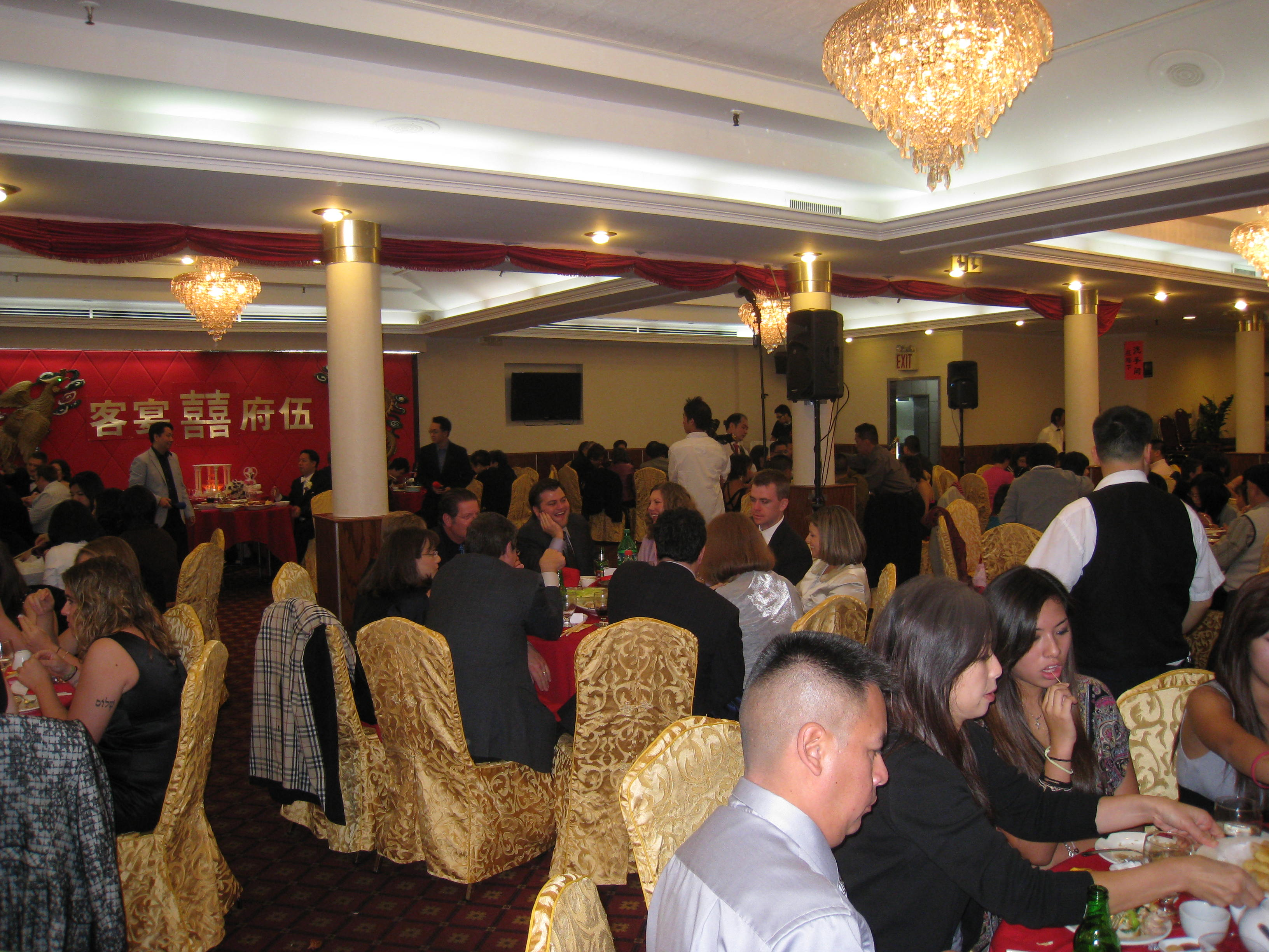 The Room Was Buzzing With Bride S Irish Family And Groom Chinese We Were Made To Feel